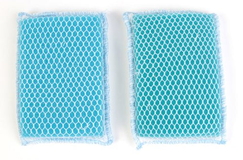 Butler Dawn Flip It Dual Sided Nylon Mesh And Cloth Kitchen Sponge, (6 Sponges)