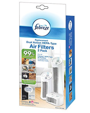 Febreze Frf102B Replacement Dual Action Filter,