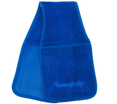 Campanellis Cooking Buddy - Professional Grade All-In-One Pot Holder, Hand Towel, Lid Grip, Tool Caddy, And Trivet. Heat Resistant Up To 500F! As Seen On Qvc. (Royal Blue)
