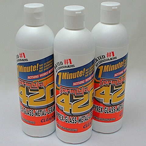 Formula 420 Glass Metal Ceramic Pipe Cleaner 12 Oz.