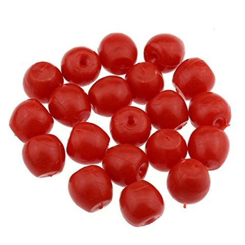 Gresorth 20 Pcs Red Fake Mini Plastic Apple Artificial Apples Diy Decoration Material Accessories