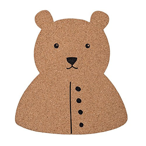 Bear Shaped Cork Board