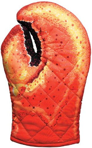 Boston Warehouse Novelty Light Duty Oven Mitt, Lobster Claw