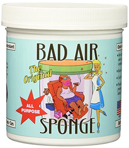 Bad Air Sponge Odor Neutralant Neutralizes And Absorbs Odors 14Oz