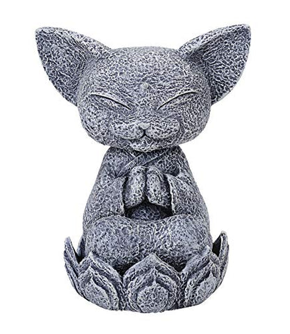 Summit Collection Mystical Mediating Jizo Cat