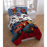 Nickelodeon Blaze Fast Track 39 X 75 Microfiber Twin Sheet Set
