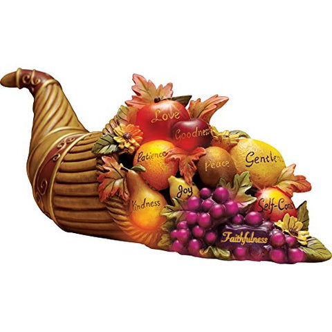 Color Changing Cornucopia Centerpiece