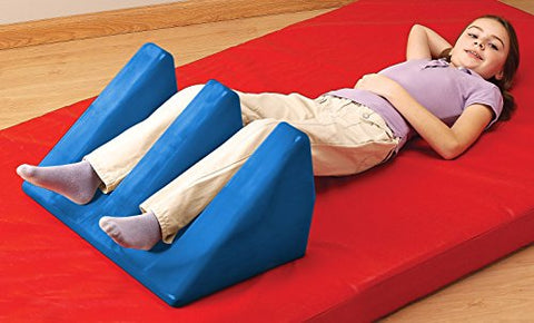 Tumble Forms 2 Slotted Wedges, Ergonomic Cushion Positioning Bolster, Small