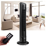 Costway 40  Lcd Tower Fan Digital Control Oscillating Cooling Fan 3 Speed W/ Remote Control
