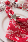Dii Napkin Rings For Dinners, Parties, Everyday, For Dinners, Parties, Everyday, Set Of 12, Silver Star