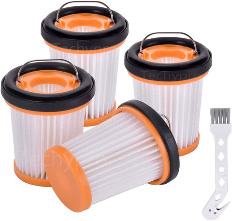 Techypro Replacement Fabric Vacuum Filter For Shark Ion W1 S87 Cordless Handheld Vacuum Wv200, Wv201, Wv205, Wv220. Compare To Part # Xhfwv200 (Fabric Vacuum Filter)