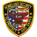 Eagleemblems Pm4368 Patch-Homeland Security (3.5'')