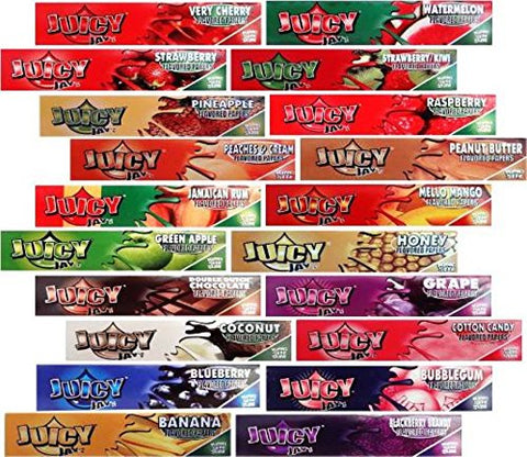 4 Books Of Juicy Jays King Size, Pick Your Flavours Or Mix Up (Mix Up) By Juicy Jays