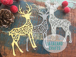 La-La Land Crafts 8329 Die-Filigree Reindeer 1