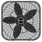 Holmes 20-Inch Box Fan, Black