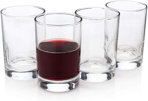 """Bcaro Di Veneto"" Italian Stemless Wine Glasses (Set Of 4)"