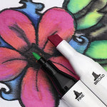 Fabric Markers With Permanent Brilliant Colors In Dual-Tipped Markers For Creating Washable Art And Lettering, Fabric Paint By Creative Joy