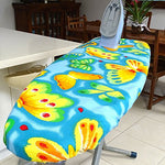 Ezy Iron Padded Ironing Board Cover Thick Padding, Slashes Your Iron Time, Heat Reflective Fits Standard And Large Wide Boards 18 X 54 Premium Heavy Duty Cover And Pad