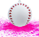 Hellobump Gender Reveal Baseball Kit | Non-Toxic Team Pink Or Blue Party Supplies (Pink)