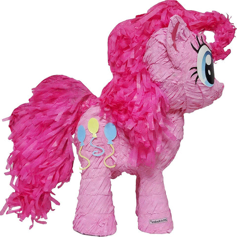 Ya Otta Pinata Pull String Pinkie Pie Pinata My Little Pony, Birthday Party, 2Lb Filler Capacity, 6 X 18 X 19 Inches