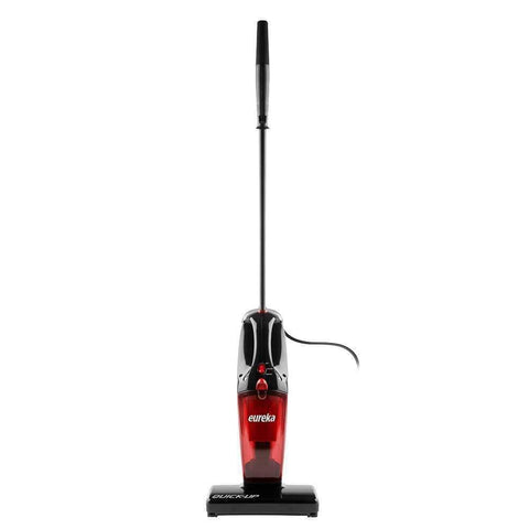 Eureka Quick-Up Bagless Stick Vacuum With Motorized Brush Roll, 169H, Red
