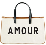 Amour Canvas Tote