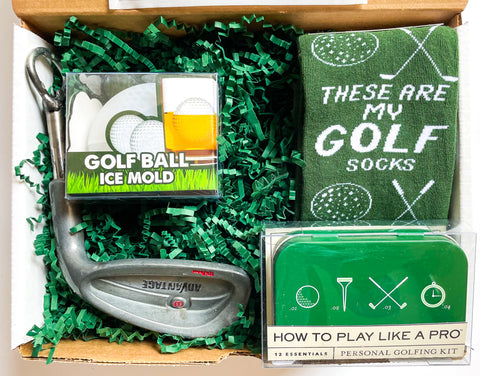Golf Father's Day Gift Box