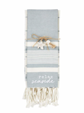 Relax Seaside Kitchen Towels