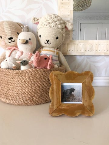Frame with Baby Stuff
