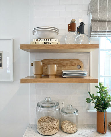 The Picket Fence Projects Kitchen Shelves