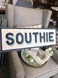 Southie Wood Sign - Assorted