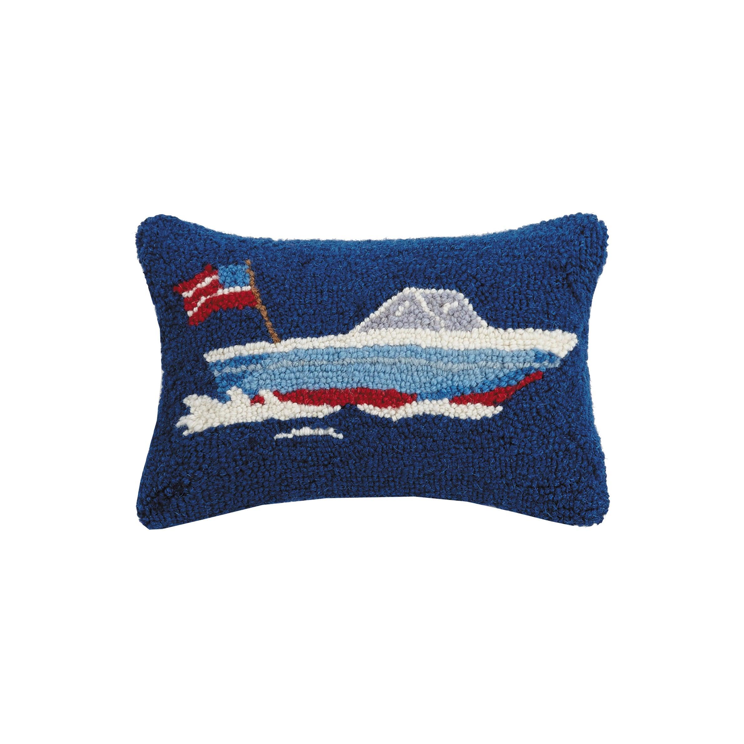 Speed Boat Hook Pillow