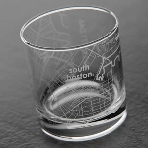 South Boston MA Whiskey Glass