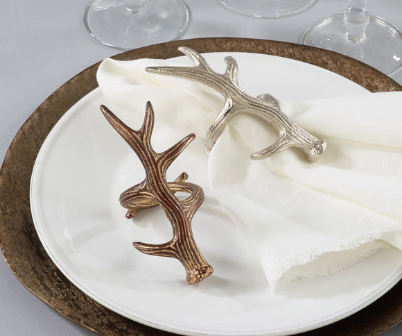 Antler Napkin Ring Holder