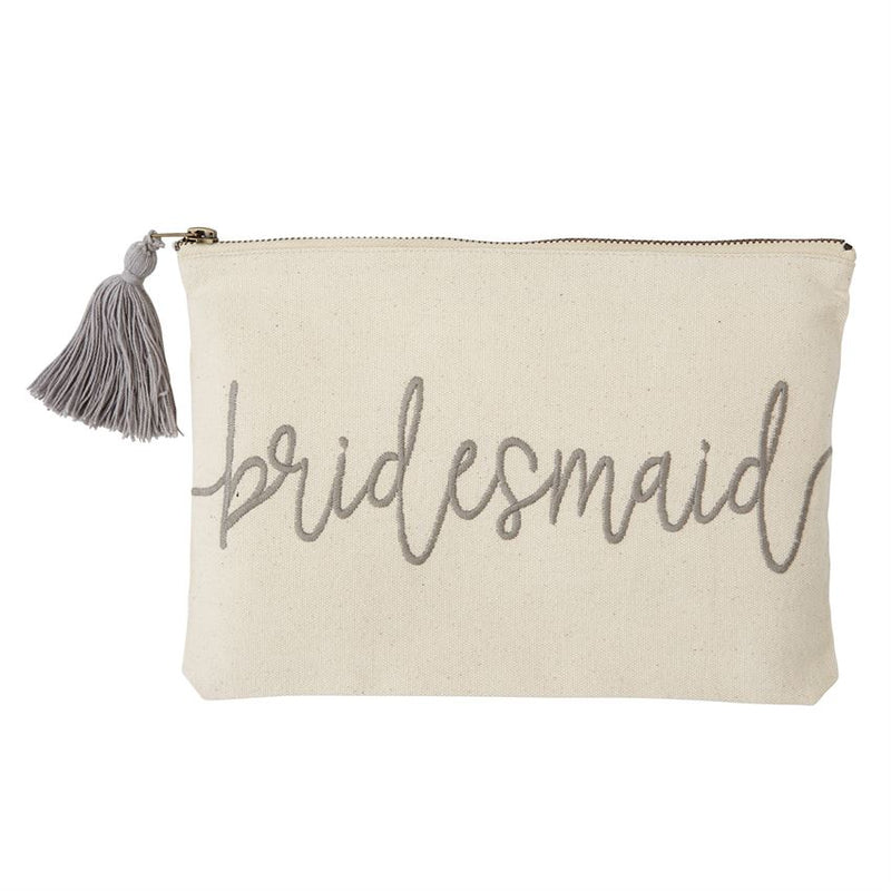 Bridesmaid Canvas Pouch