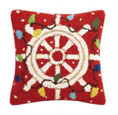 Holiday Steering Wheel Hook Pillow