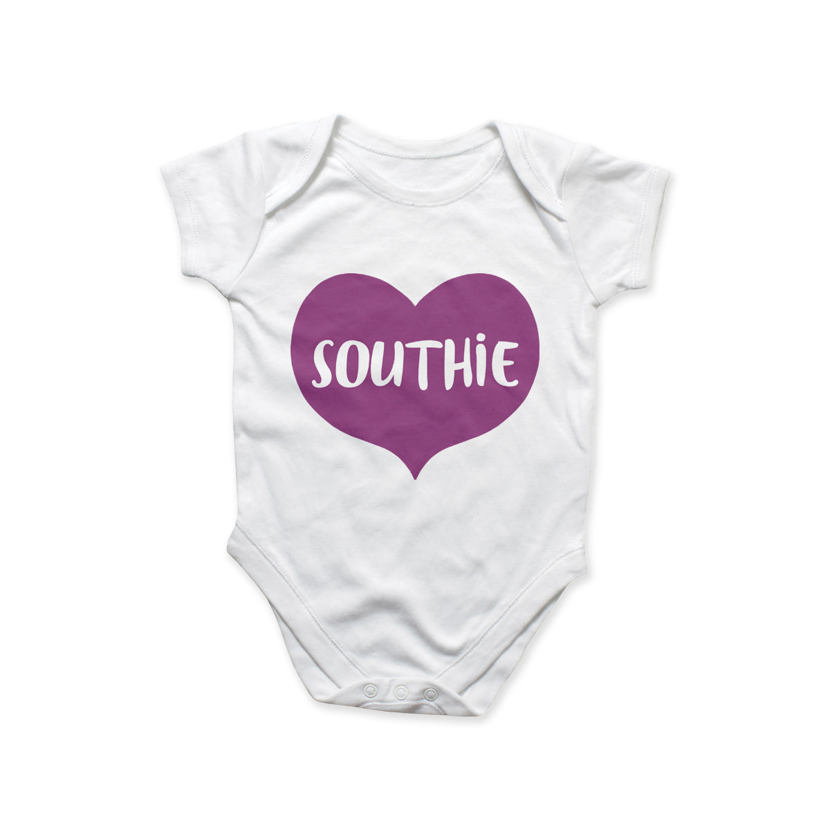 Southie Purple Heart Onesie