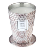 Rose Colored Glasses 2 Wick Tin Table Candle