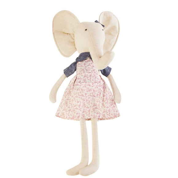 Large Elephant Doll