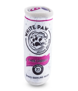 White Paw Dog Toy // Bark Cherry