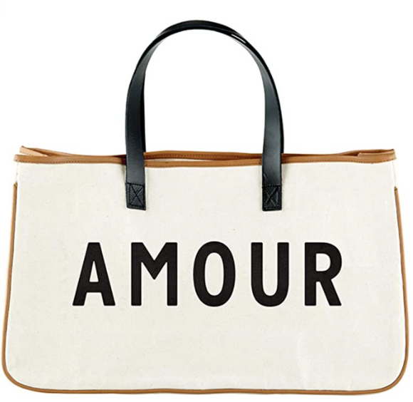 Canvas Amour Hold Everything Tote