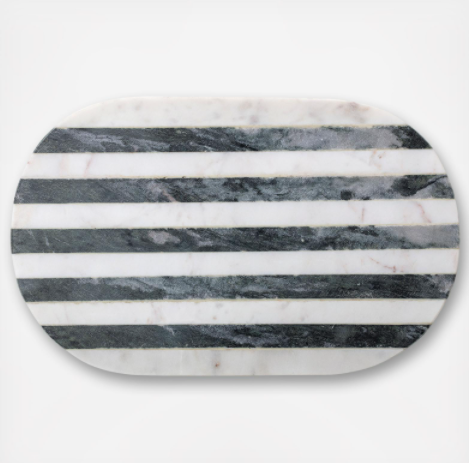 Black and White Marble Cutting Board