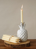 Ivory Taper Candle Set of 12
