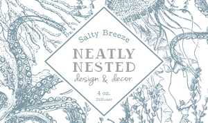 Neatly Nested Salty Breeze Diffuser