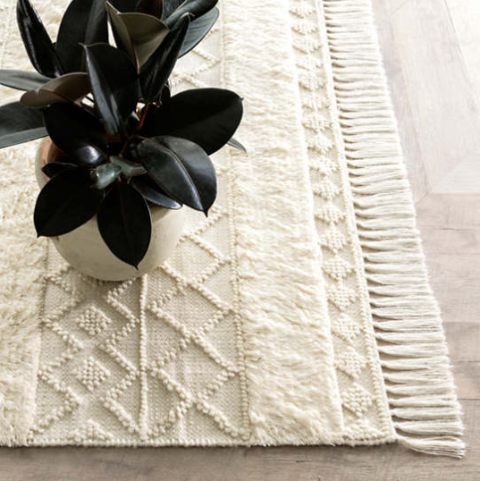 Anchorage Woven Wool Rug