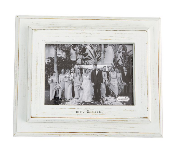 Mr. and Mrs. Wood Frame