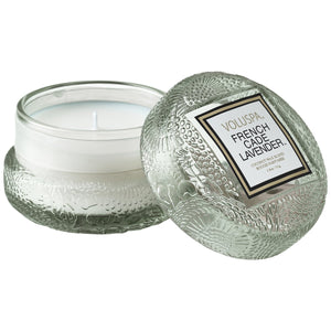 French Cade  Macaron Candle