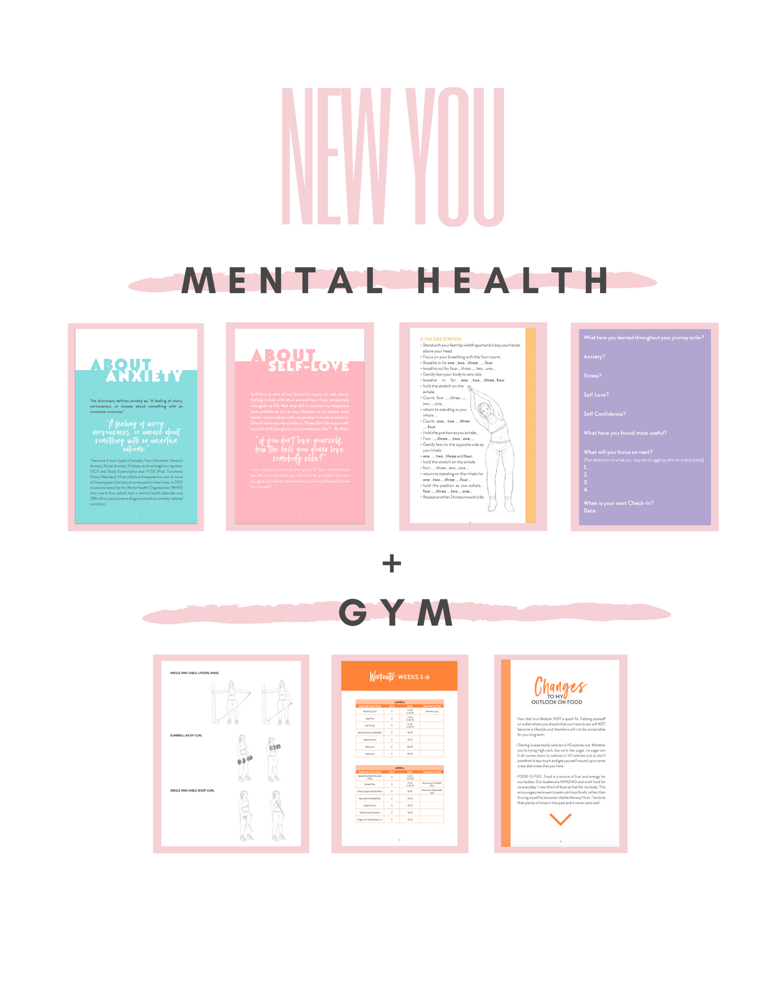 New You: Gym + Mental Health Package