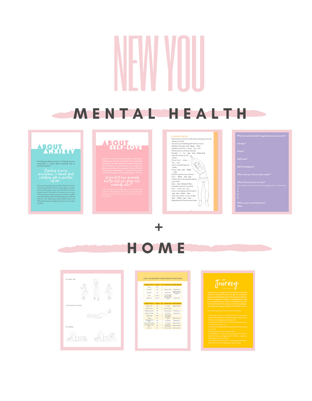 New You: Home + Mental Health Package