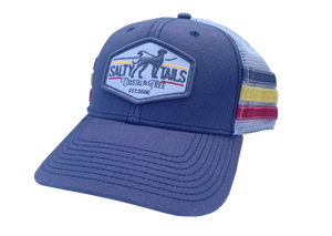 Salty Tails - NC Stripe Trucker